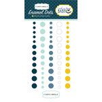 Carta Bella Paper - Rock-A-Bye Baby Boy Collection - Enamel Dots
