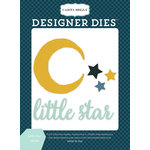 Carta Bella Paper - Rock-A-Bye Baby Boy Collection - Designer Dies - Little Star