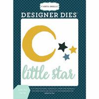 Carta Bella Paper - Rock-A-Bye Baby Boy Collection - Designer Dies - Little Star