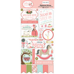 Carta Bella Paper - Rock-A-Bye Baby Girl Collection - Chipboard Stickers
