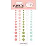 Carta Bella Paper - Rock-A-Bye Baby Girl Collection - Enamel Dots