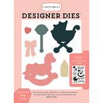 Carta Bella Paper - Rock-A-Bye Baby Girl Collection - Designer Dies - Rock-A-Bye Baby