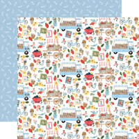 Carta Bella Paper - Summer Collection - 12 x 12 Double Sided Paper - Farmers Market