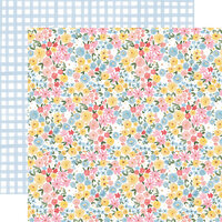 Carta Bella Paper - Summer Collection - 12 x 12 Double Sided Paper - Bloom and Grow