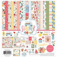 Carta Bella Paper - Summer Collection - 12 x 12 Collection Kit