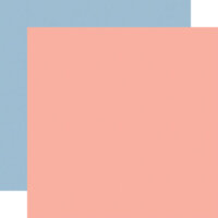 Carta Bella Paper - Summer Collection - 12 x 12 Double Sided Paper - Pink