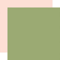 Carta Bella Paper - Summer Collection - 12 x 12 Double Sided Paper - Green