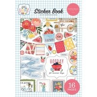 Carta Bella Paper - Summer Collection - Cardstock Sticker Book