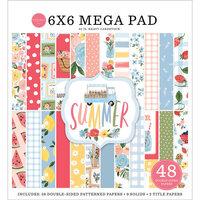 Carta Bella Paper - Summer Collection - 6 x 6 Mega Paper Pad