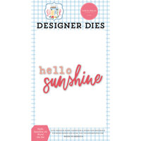 Carta Bella Paper - Summer Collection - Designer Dies - Hello Sunshine - Set Two
