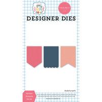 Carta Bella Paper - Summer Collection - Designer Dies - Summer Pennants