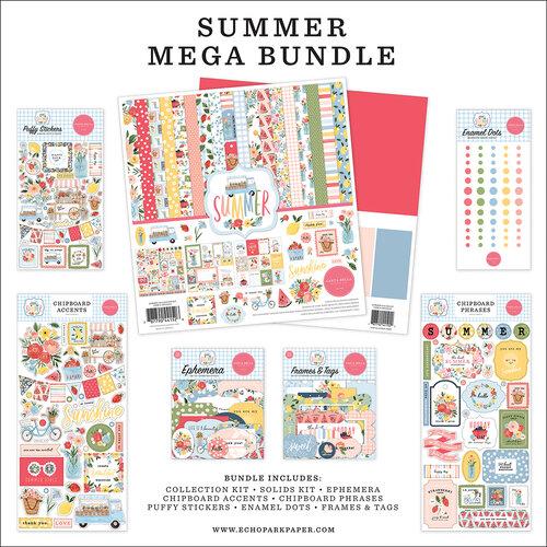 Carta Bella Paper - Summer Collection - 12 x 12 Mega Bundle