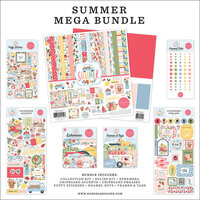 Carta Bella Paper - Summer Collection - 12 x 12 Mega Bundle