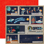 Carta Bella Paper - Space Academy Collection - 12 x 12 Double Sided Paper - Cadet Training