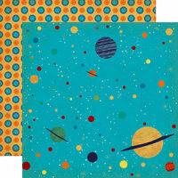 Carta Bella Paper - Space Academy Collection - 12 x 12 Double Sided Paper - Solar System