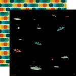 Carta Bella Paper - Space Academy Collection - 12 x 12 Double Sided Paper - Radical Radar