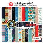 Carta Bella Paper - Space Academy Collection - 6 x 6 Paper Pad