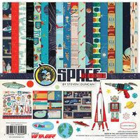 Carta Bella Paper - Space Academy Collection - 12 x 12 Collection Kit