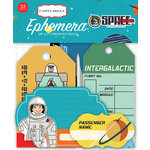 Carta Bella Paper - Space Academy Collection - Ephemera - Frames and Tags
