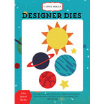 Carta Bella Paper - Space Academy Collection - Designer Dies - Solar System