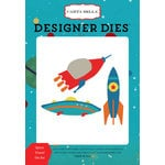 Carta Bella Paper - Space Academy Collection - Designer Dies - Space Travel