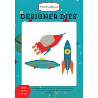 Carta Bella Paper - Space Academy Collection - Designer Dies - Space Travel