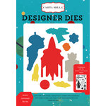 Carta Bella Paper - Space Academy Collection - Designer Dies - Junior Astronaut