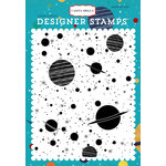 Carta Bella Paper - Space Academy Collection - Clear Acrylic Stamps - Galaxy A2