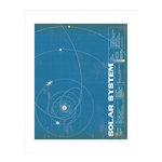 Carta Bella Paper - Space Academy Collection - Art Print - 11 x 14 - Solar System