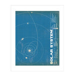 Carta Bella Paper - Space Academy Collection - Art Print - 8 x 10 - Solar System
