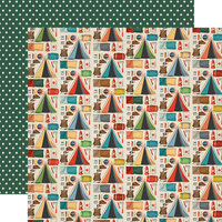 Carta Bella Paper - Summer Camp Collection - 12 x 12 Double Sided Paper - Camping Essentials