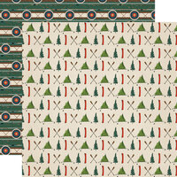 Carta Bella Paper - Summer Camp Collection - 12 x 12 Double Sided Paper - Get Outside