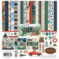 Carta Bella Paper - Summer Camp Collection - 12 x 12 Collection Kit