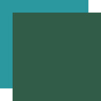 Carta Bella Paper - Summer Camp Collection - 12 x 12 Double Sided Paper - Green
