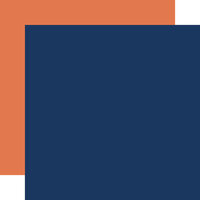 Carta Bella Paper - Summer Camp Collection - 12 x 12 Double Sided Paper - Navy