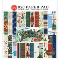 Carta Bella Paper - Summer Camp Collection - 6 x 6 Paper Pad