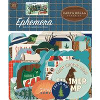 Carta Bella Paper - Summer Camp Collection - Ephemera
