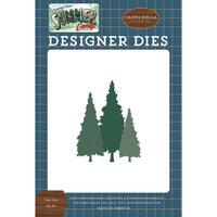 Carta Bella Paper - Summer Camp Collection - Designer Dies - Tree Trio