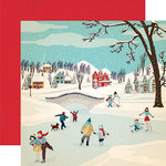 Carta Bella Paper - Snow Fun Collection - 12 x 12 Double Sided Paper - Winter Wonderland