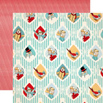 Carta Bella Paper - Snow Fun Collection - 12 x 12 Double Sided Paper - Snow Day Fun