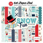 Carta Bella Paper - Snow Fun Collection - 6 x 6 Paper Pad
