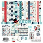 Carta Bella Paper - Snow Fun Collection - 12 x 12 Collection Kit