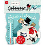 Carta Bella Paper - Snow Fun Collection - Ephemera