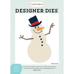 Carta Bella Paper - Snow Fun Collection - Designer Dies - Joyful Snowman
