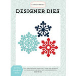 Carta Bella Paper - Snow Fun Collection - Designer Dies - Sparkling Snowflake