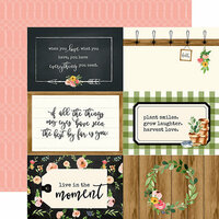 Carta Bella Paper - Spring Market Collection - 12 x 12 Double Sided Paper - 4 x 6 Journaling Cards