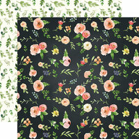Carta Bella Paper - Spring Market Collection - 12 x 12 Double Sided Paper - Market Floral