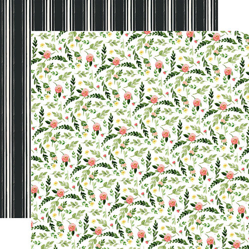 Carta Bella Paper - Spring Market Collection - 12 x 12 Double Sided Paper - Farm Floral
