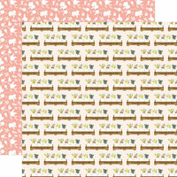 Carta Bella Paper - Spring Market Collection - 12 x 12 Double Sided Paper - Home Sweet Home