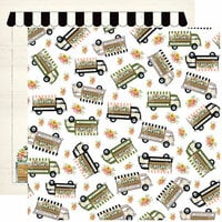 Carta Bella Paper - Spring Market Collection - 12 x 12 Double Sided Paper - Home Delivery